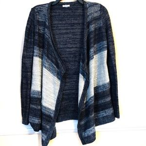 Sonoma Open Front Cardigan size S